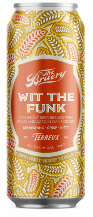 Wit The Funk by The Bruery in California, United States
