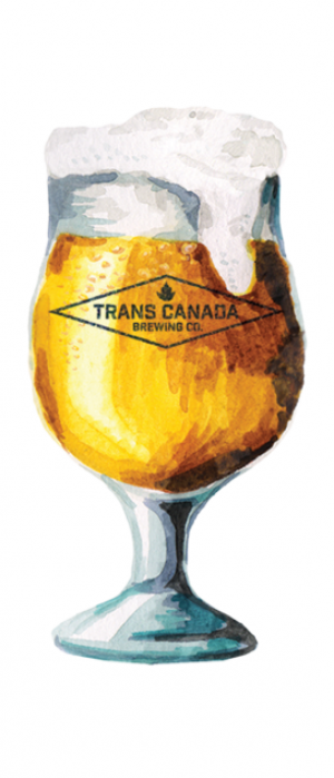 Witbier by Trans Canada Brewing Co. in Manitoba, Canada