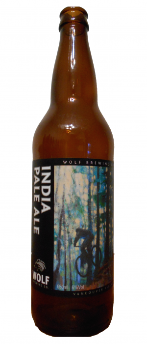India Pale Ale by Wolf Brewing Company in British Columbia, Canada