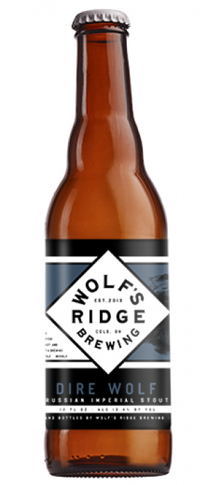 Dire Wolf Russian Imperial Stout by Wolf's Ridge Brewing in Ohio, United States