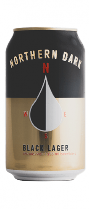 Northern Dark Black Lager by Wood Buffalo Brewing Co. in Alberta, Canada