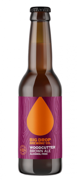 Woodcutter Brown Ale by Big Drop Brewing Co. in Suffolk - England, United Kingdom