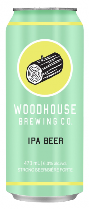 IPA Beer by Woodhouse Brewing Co. in Ontario, Canada
