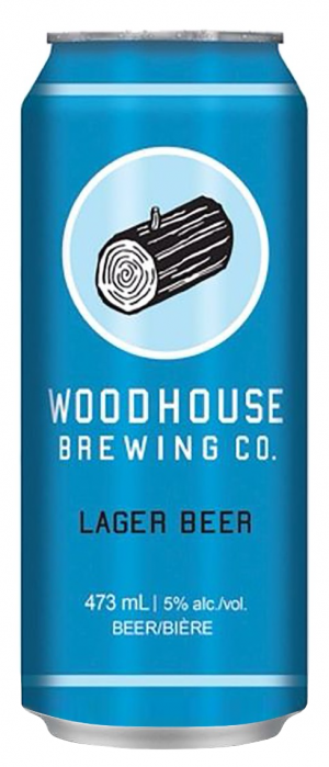 Lager Beer by Woodhouse Brewing Co. in Ontario, Canada
