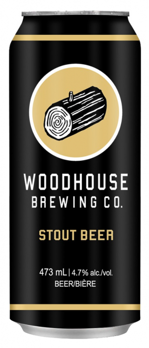 Stout Beer by Woodhouse Brewing Co. in Ontario, Canada