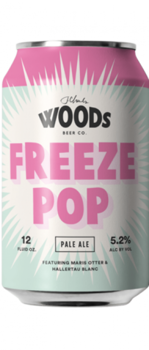 Freeze Pop by Woods Beer Company in California, United States