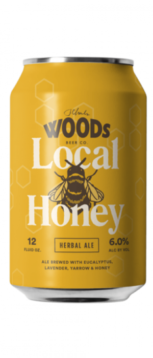 Local Honey by Woods Beer Company in California, United States