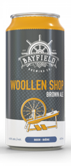 Woollen Shop by Bayfield Brewing Company in Ontario, Canada