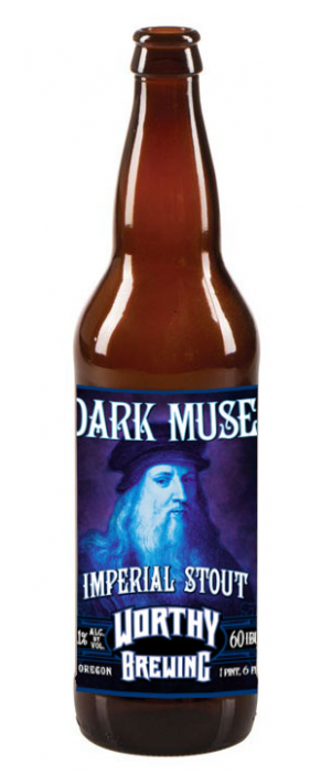 Dark Muse Imperial Stout by Worthy Brewing Co.  in Oregon, United States