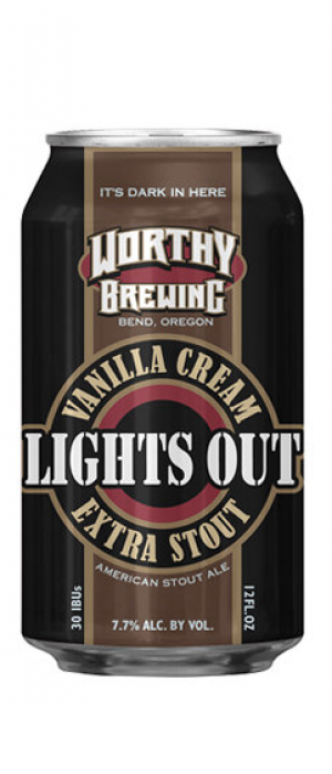 Lights Out Stout by Worthy Brewing Co.  in Oregon, United States