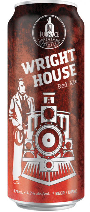 Wright House Red Ale by Furnace Room Brewery in Ontario, Canada