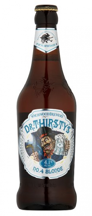 Dr. Thirsty's No.4 Blonde by Wychwood Brewery in Oxfordshire - England, United Kingdom