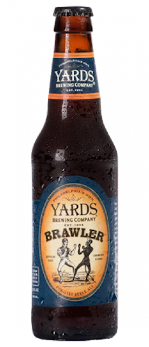Brawler by Yards Brewing Company in Pennsylvania, United States