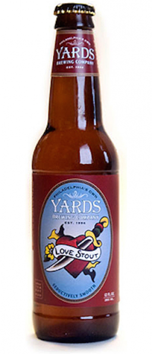 Love Stout by Yards Brewing Company in Pennsylvania, United States