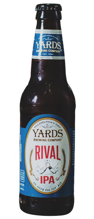 Rival IPA by Yards Brewing Company in Pennsylvania, United States