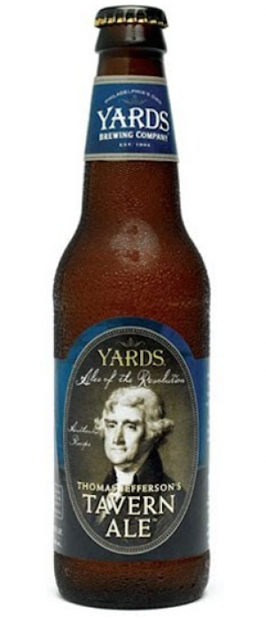 Thomas Jefferson's Tavern Ale by Yards Brewing Company in Pennsylvania, United States