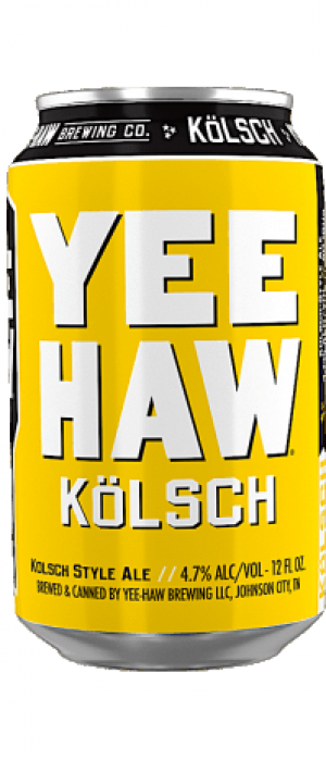 Kölsch by Yee-Haw Brewing Company in South Carolina, United States