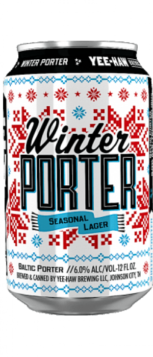 Winter Porter by Yee-Haw Brewing Company in South Carolina, United States