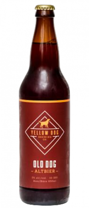 Old Dog Altbier by Yellow Dog Brewing Company in British Columbia, Canada