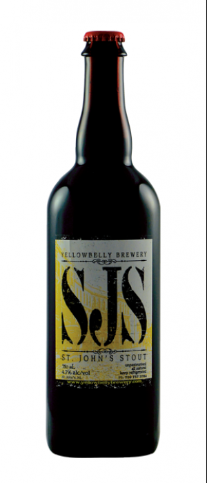 St. John's Stout by Yellowbelly Brewery & Public House in Newfoundland and Labrador, Canada