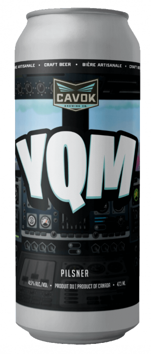 YQM by Cavok Brewing Co. in New Brunswick, Canada