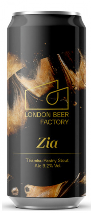 Zia Tiramisu Pastry Stout by London Beer Factory in London - England, United Kingdom
