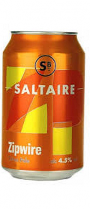 Zipwire Citrus Pale by Saltaire Brewery in West Yorkshire - England, United Kingdom