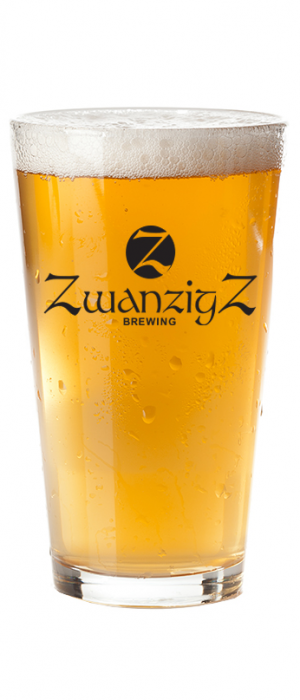 Columbus Pale Ale by ZwanzigZ Pizza & Brewing in Indiana, United States