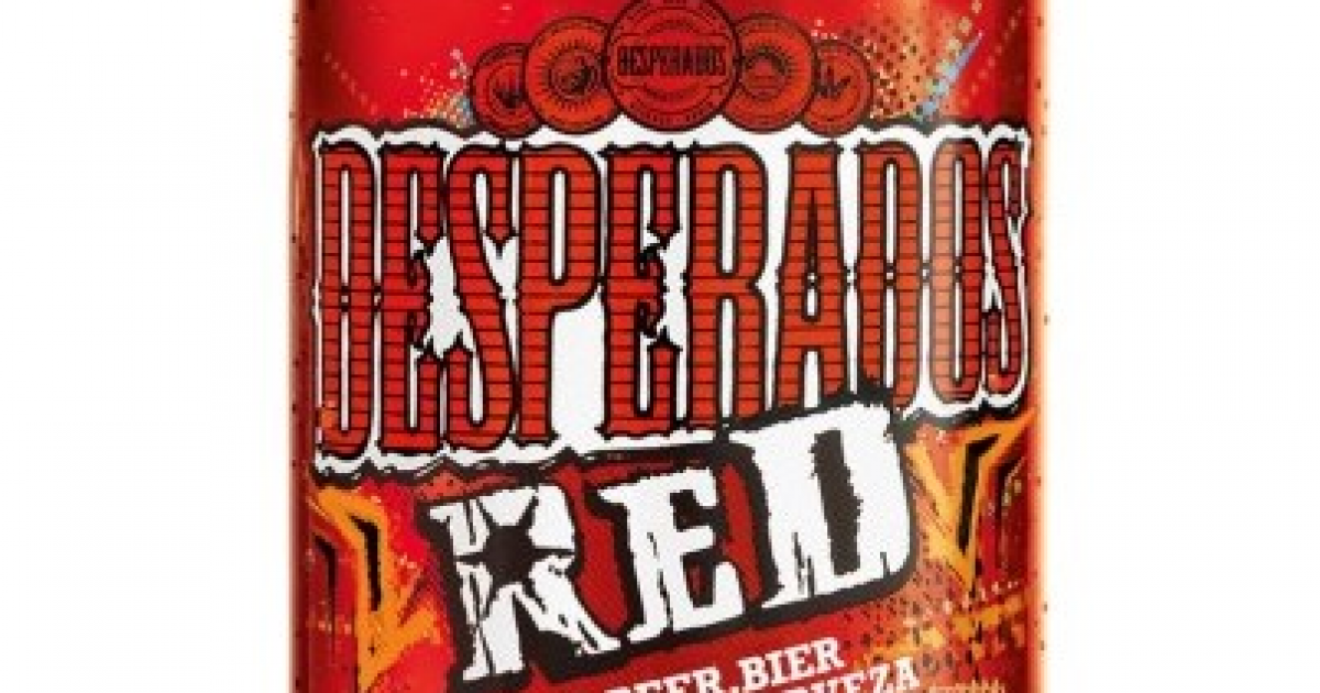Desperados Red Fruit Vegetable Beer Heineken