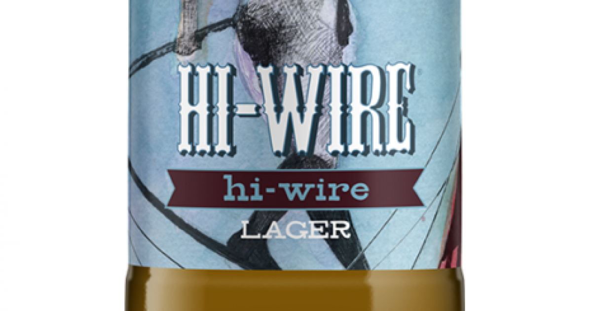 Hi-Wire Brewing Hi-Wire Lager | Just Beer
