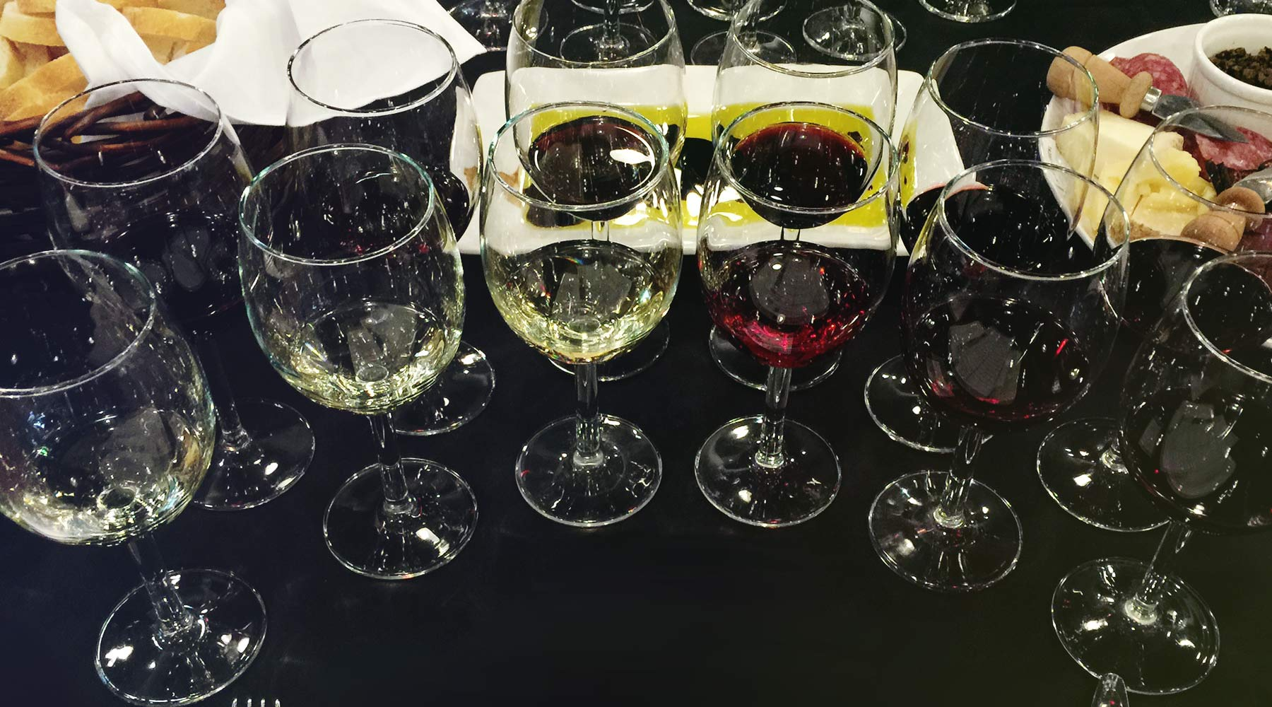 Trius Black Glass Dinner | Just Wine