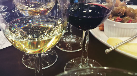 Just Wine - Five Course Grilled Cheese & Wine Dinner