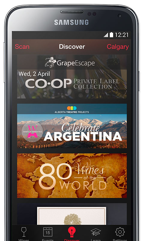 Just Wine App, Wine Collections