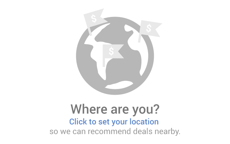 Set your location so we can recommend deals nearby.