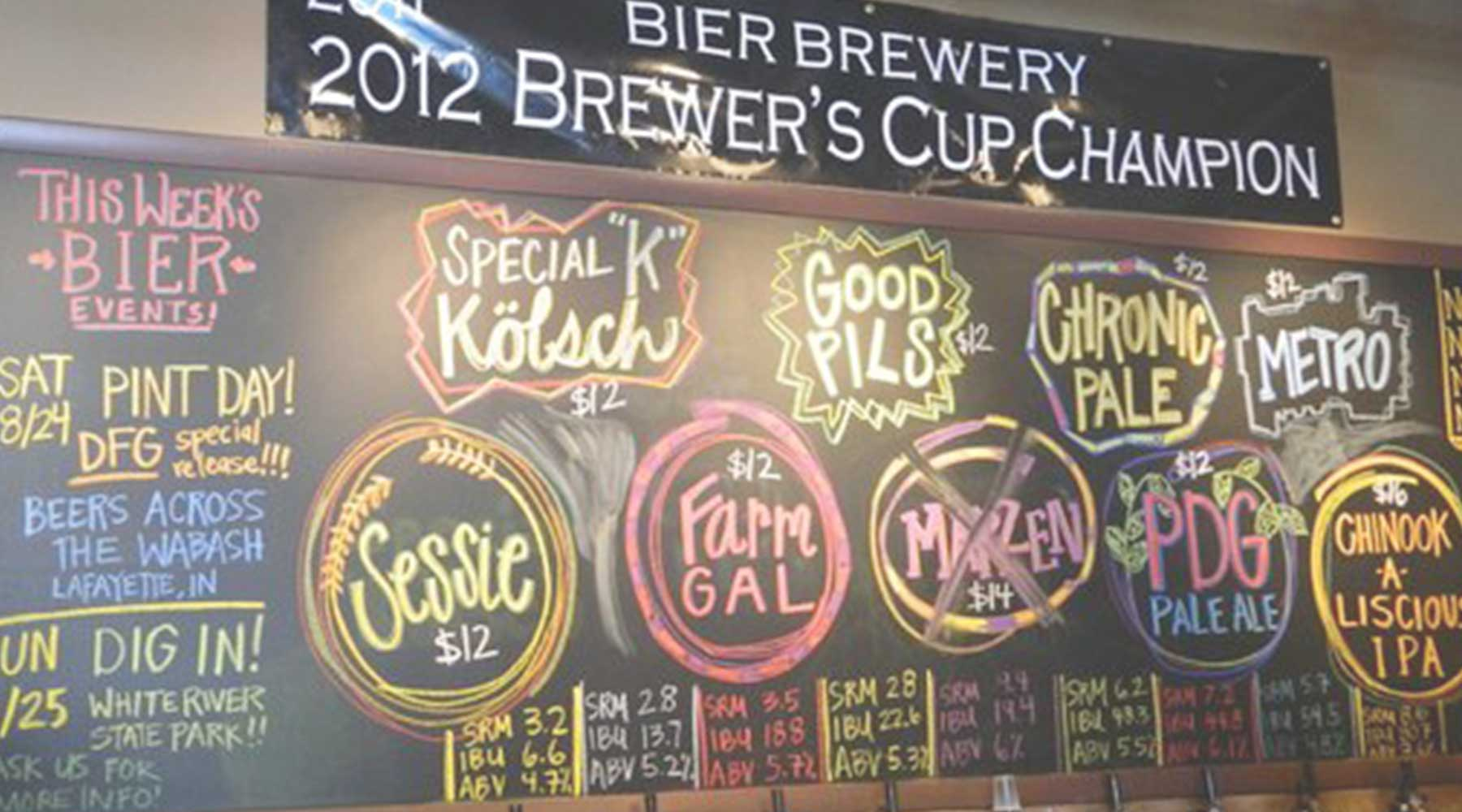 Bier Brewery and Taproom | Just Wine