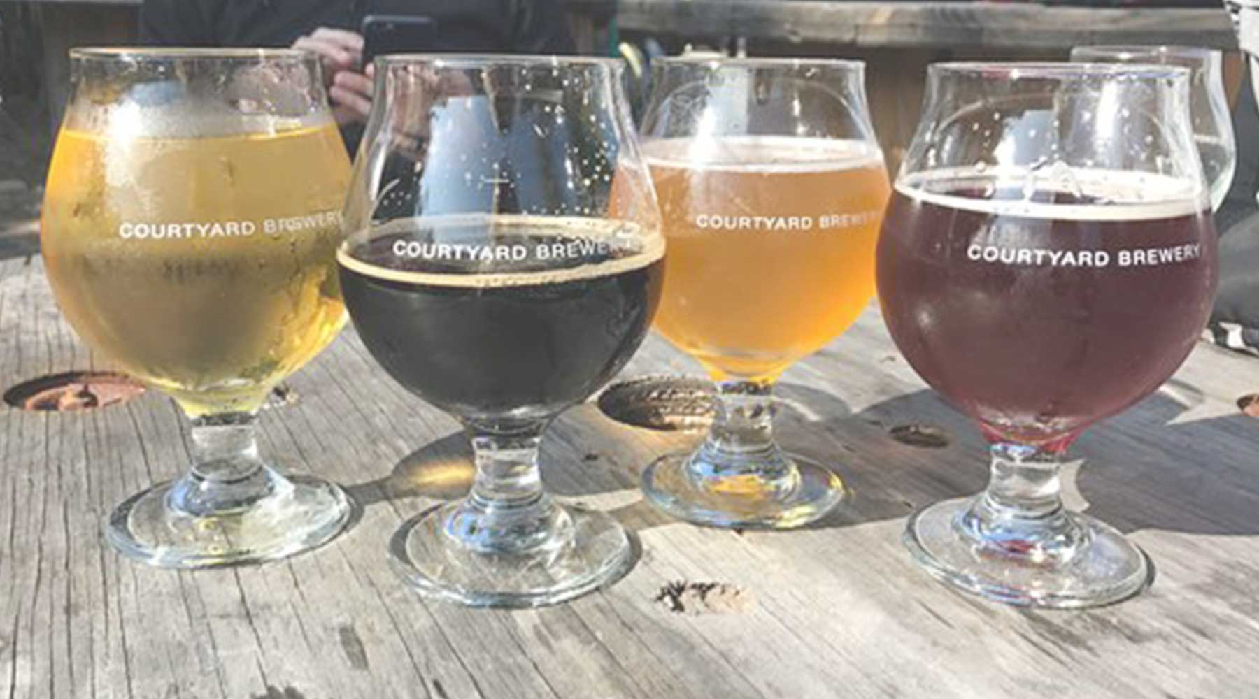 Courtyard Brewery | Just Wine