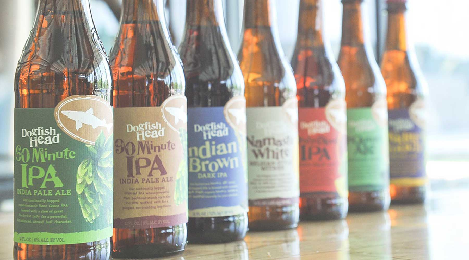 Dogfish Head Craft Brewed Ales | Just Wine