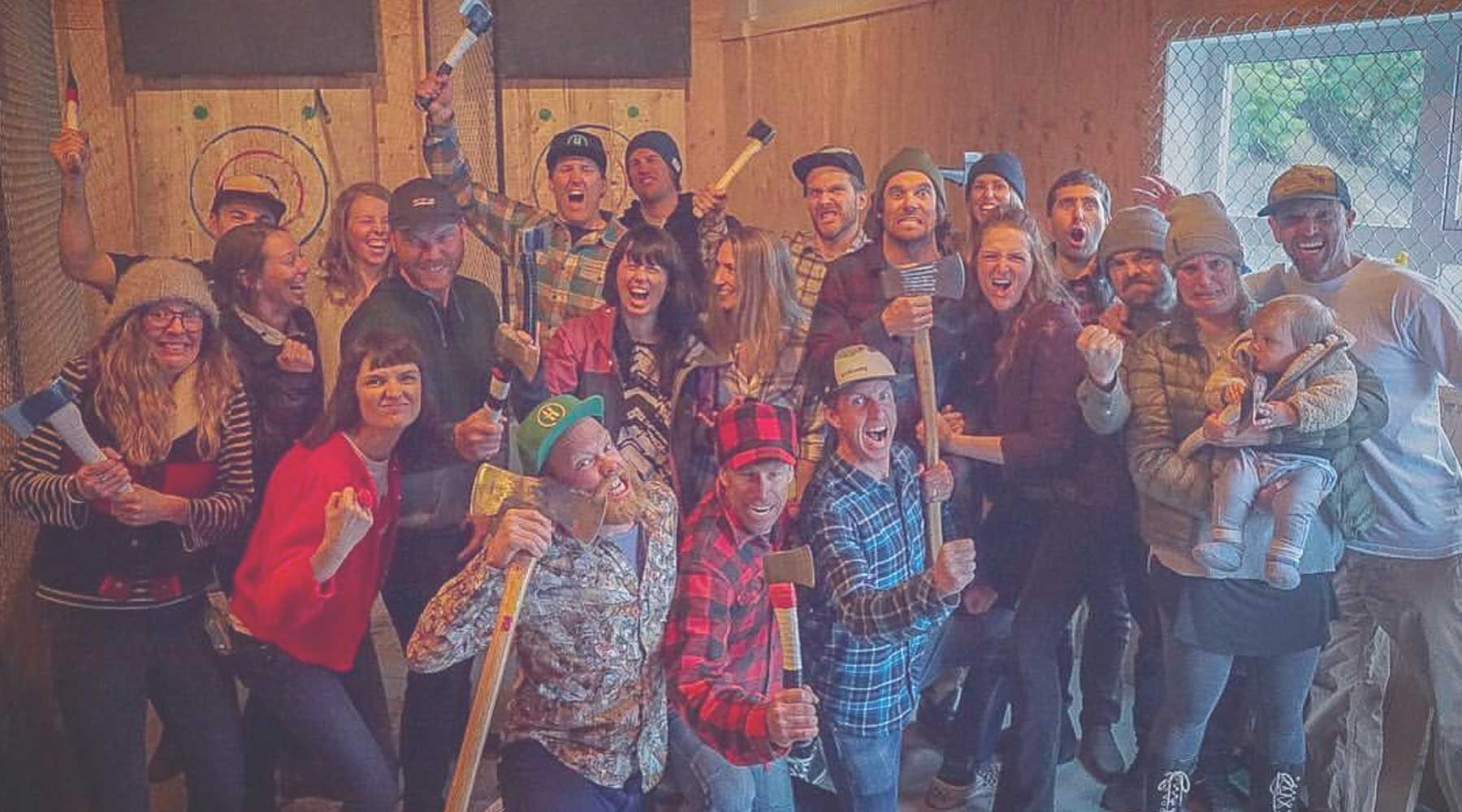 Forged Axe Throwing | Just Wine