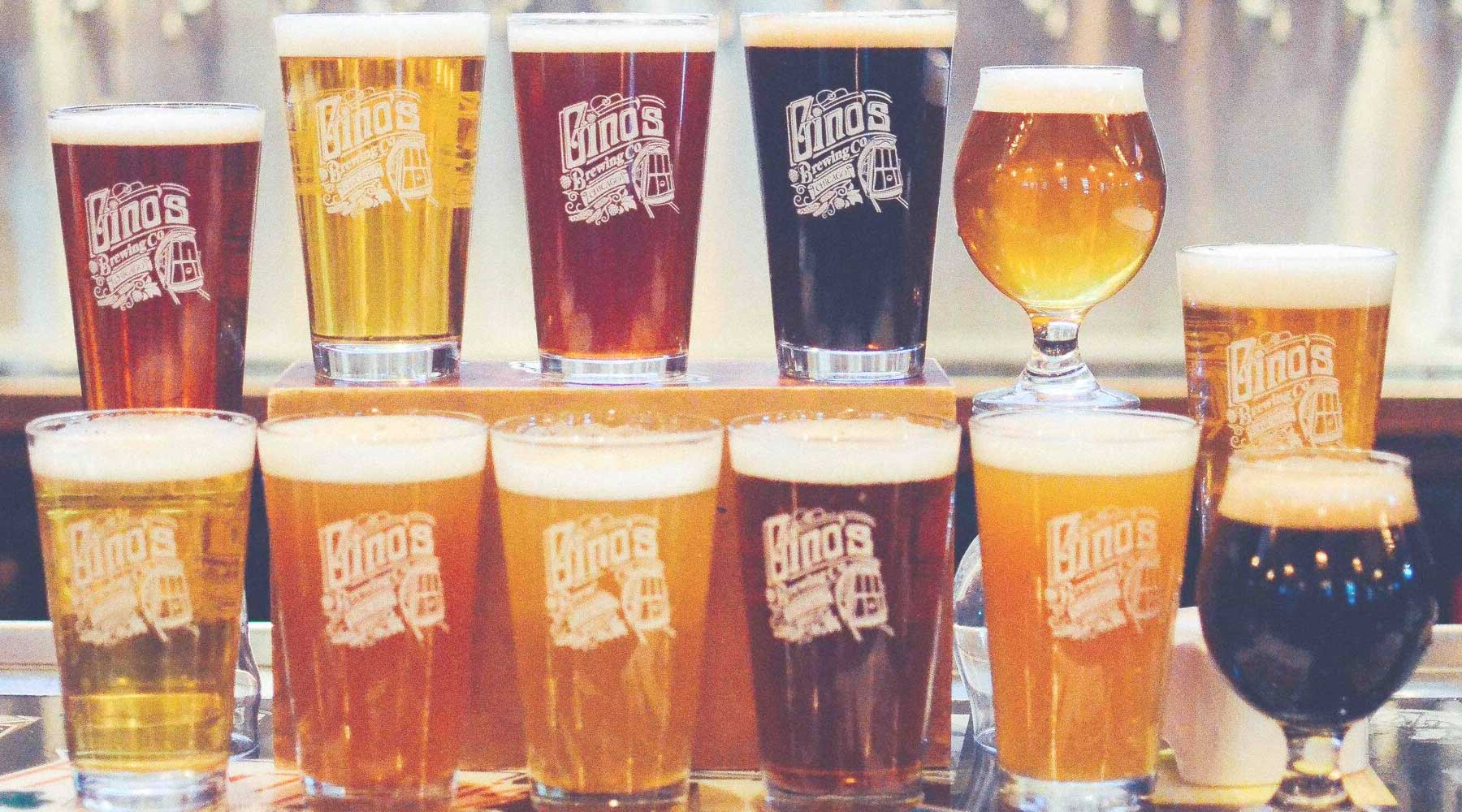Gino's East Brewing Co. | Just Wine