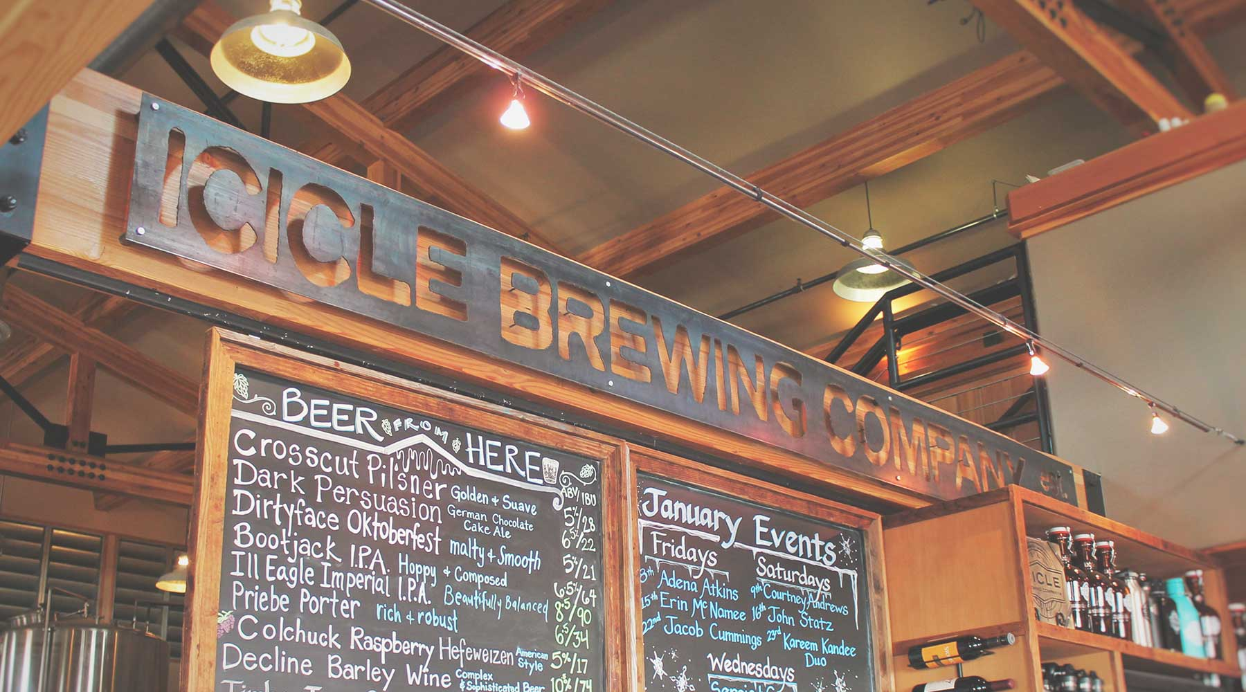 Icicle Brewing Company | Just Wine