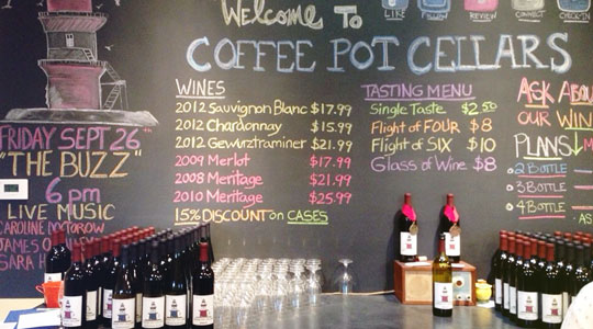 Coffee Pot Cellars