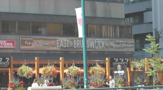 East of Brunswick Pub & Kitchen