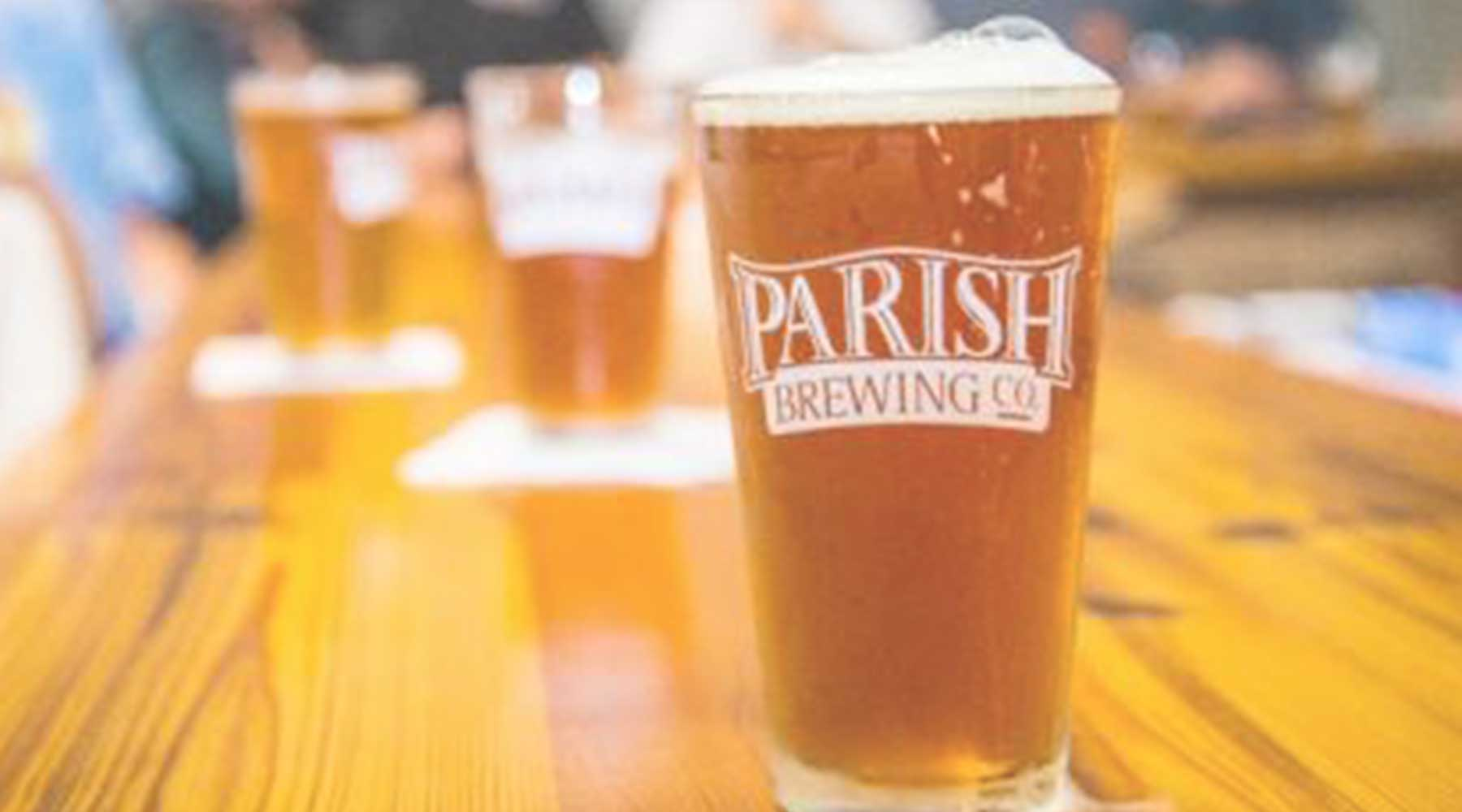 Parish Brewing Company | Just Wine