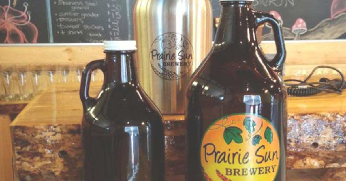 Prairie Sun Brewery Just Beer