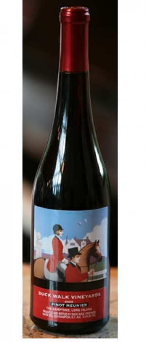 Duck Walk Vineyards 2012 Pinot Meunier Bottle