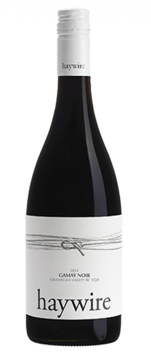 Haywire 2015 Gamay Noir Bottle