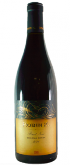 Robin K 2013 Pinot Noir  Bottle