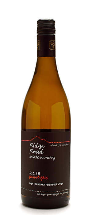 Ridge Road Estate Winery 2013 Pinot Gris (Grigio) | White Wine