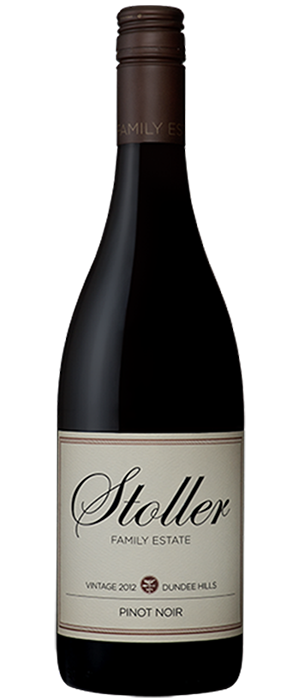 Stoller Vineyards 2012 Pinot Noir Bottle