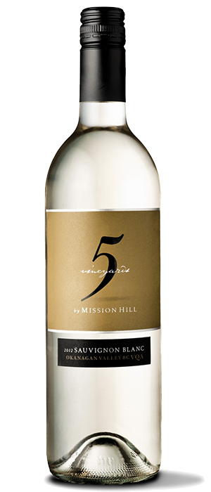 Mission Hill  2012 Five Vineyards Sauvignon Blanc Bottle